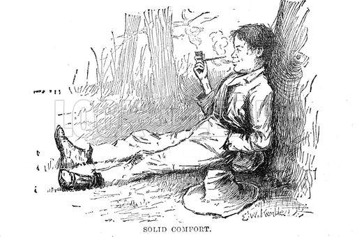 Huckleberry Finn / Smoking